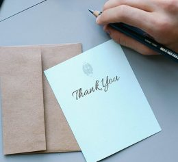 What Makes a Great Thank-You Note?